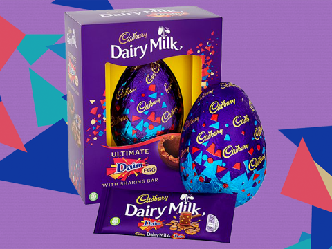 Asda is selling a giant Cadbury Daim Easter egg