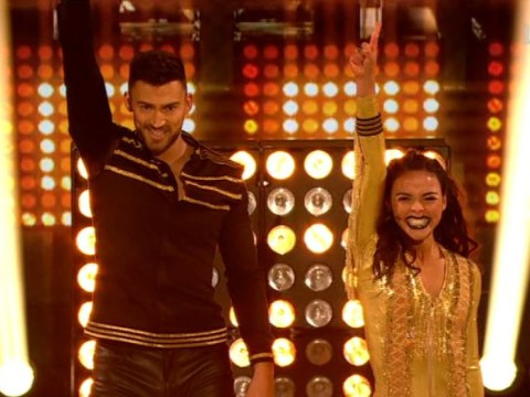Jake Quickenden smashes Dancing On Ice's first headbanger of the series