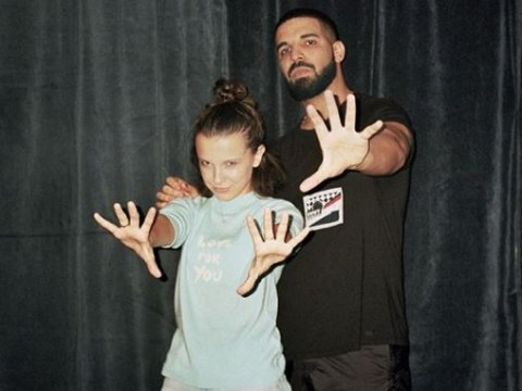 Millie Bobby Brown loves Drake and girl, same