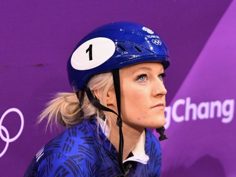 Team GB star Elise Christie considered swapping sports after Winter Olympics heartbreak