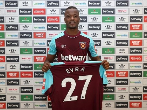 Manchester United legend Patrice Evra explains decision to join West Ham
