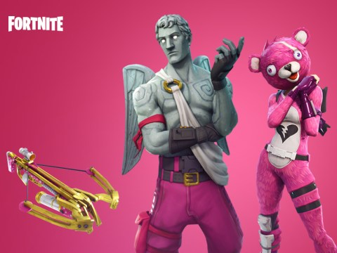 Fortnite Valentine's Day update includes new crossbow weapon