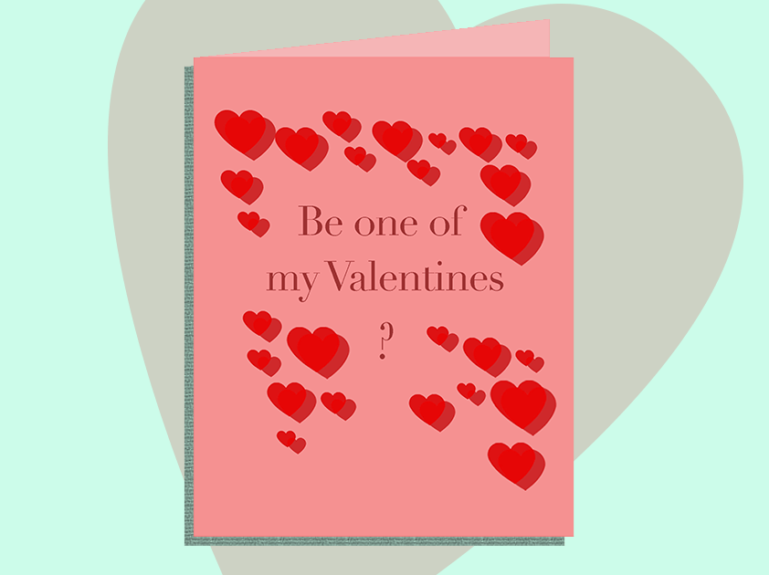 Someone's made Valentine's Day cards you wish the f***boy you're seeing would send