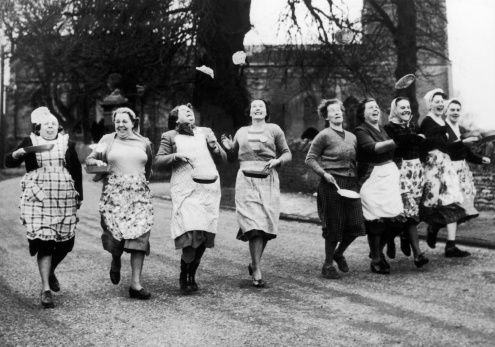 Pancake race rules and what are the origins of the Shrove Tuesday tradition?