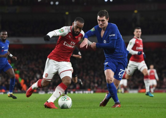 Arsenal defeated Chelsea at home in the semi-final (Picture: Getty Images)