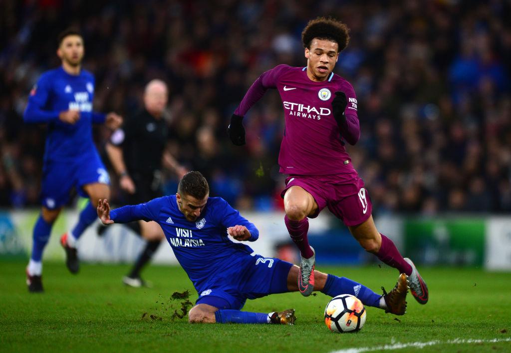 Leroy Sane returns to Man City's squad for Champions League clash against Basel