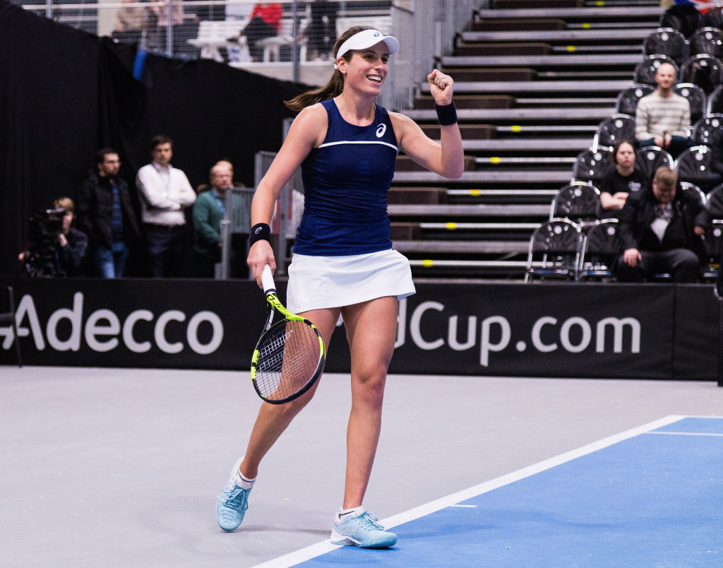 Great Britain face Japan in Fed Cup World Group II play-off