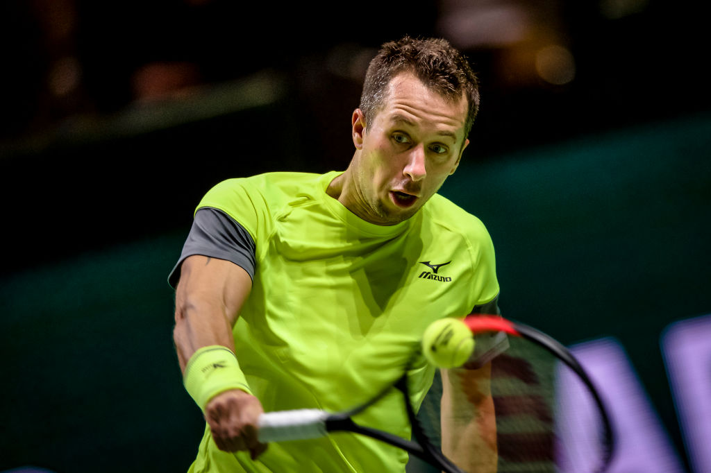 Philipp Kohlschreiber awaits Roger Federer in Rotterdam round two amid world No. 1 chase