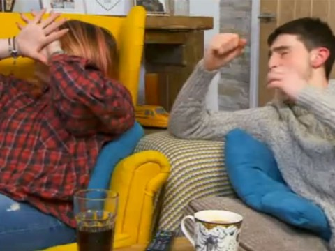 Gogglebox cast left cringing and hiding behind cushions at gruesome 24 Hours In A&E scene
