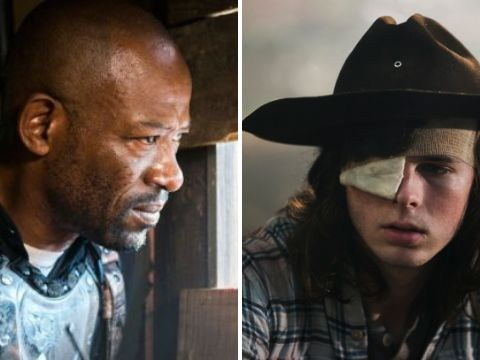 The Walking Dead's Lennie James pays tribute to 'heartbreaking loss' of Chandler Riggs as Carl is killed off
