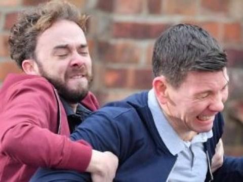 Coronation Street spoilers: Violent fight breaks out as David Platt tackles racist thugs