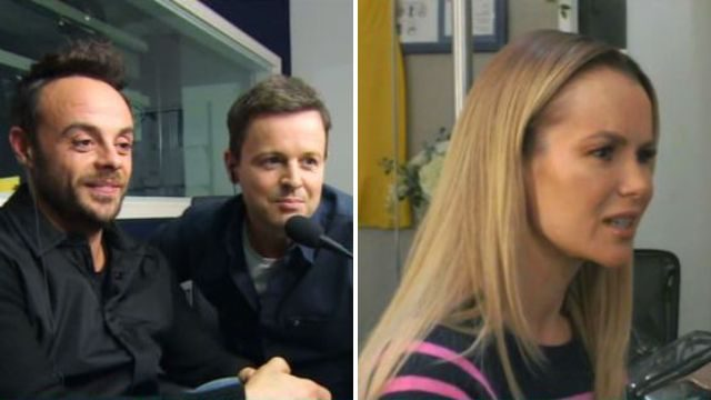 Ant and Dec tease Amanda Holden meltdown after they call her 'Mandy Pandy' in prank