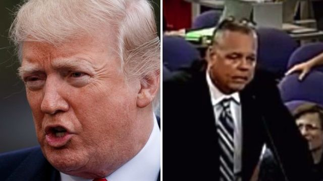 Trump labels security guard who hid from Florida shooter a 'coward'
