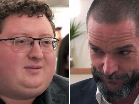 Nervous man gets some straightforward dating tips from First Dates restaurant manager Fred Sirieix