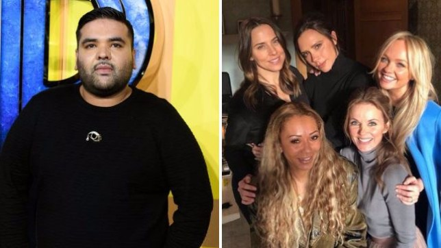 Naughty Boy and the Spice Girls
