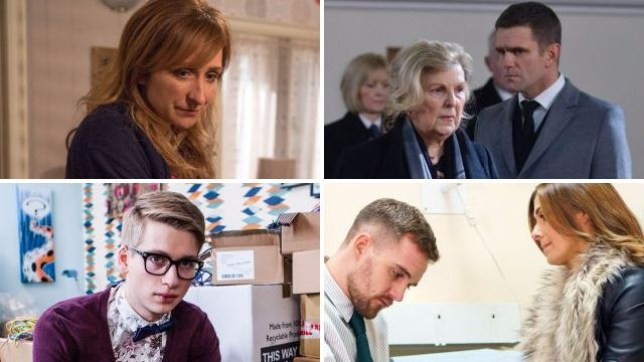 Soap spoilers for Laurel in Emmerdale, Jack in EastEnders, Alfie in Hollyoaks and Michelle in Coronation Street