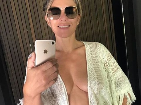 Life's a beach for Liz Hurley as she lives her best life on holiday