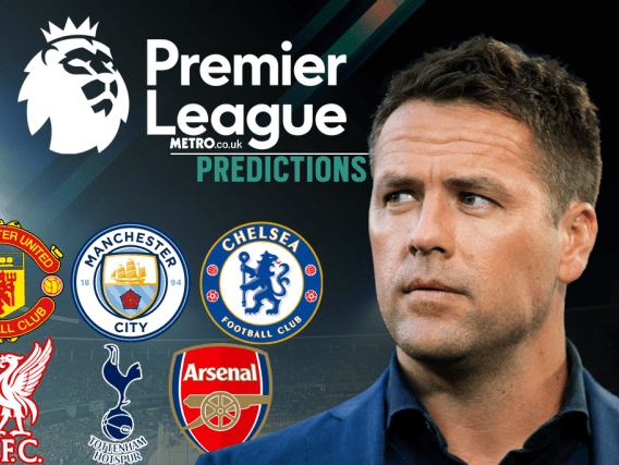 Michael Owen's Premier League predictions, including Man Utd, Chelsea and Arsenal