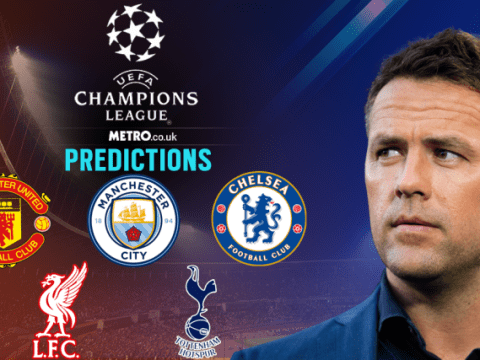 Michael Owen's Champions League predictions, including Liverpool v Manchester City