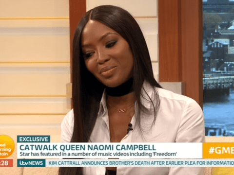 Naomi Campbell is coy as she's asked whether she's single following Skepta romance rumours
