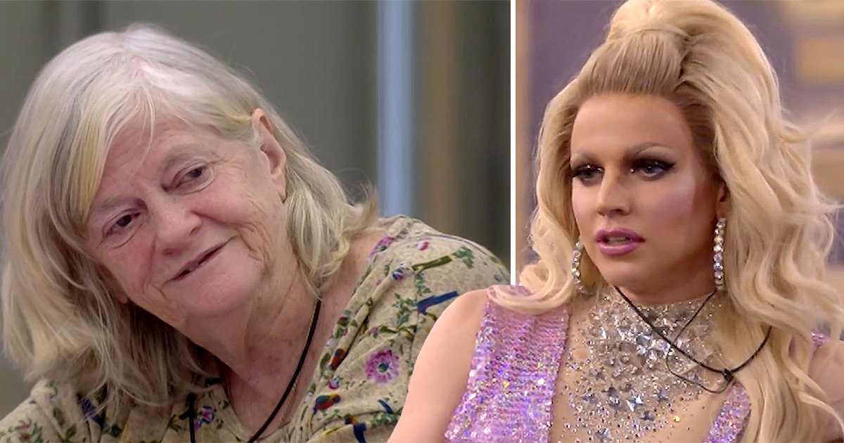 CBB viewers label Ann Widdecombe and Courtney Act LGBT rights feud a 'fight between equality and bigotry'