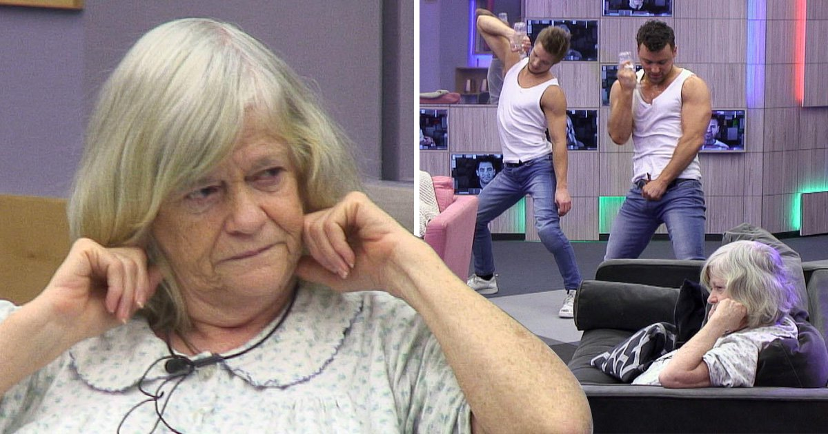 Celebrity Big Brother: Viewers in hysterics as Ann Widdecombe flees gaggle of male strippers