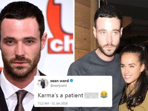 Georgia May Foote's ex Sean Ward tweets 'Karma's a b**ch' after she splits from boyfriend George Alsford