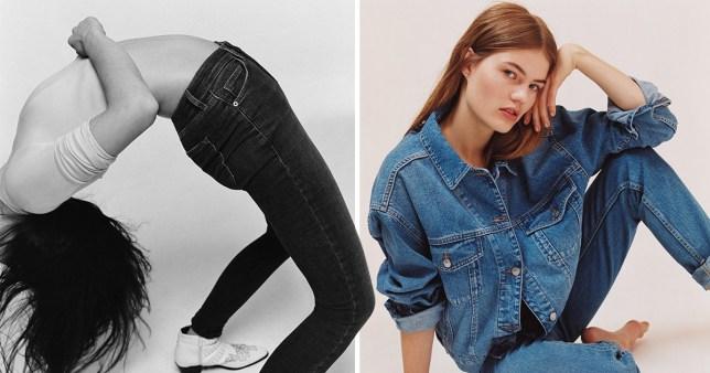 Topshop Half Jeans