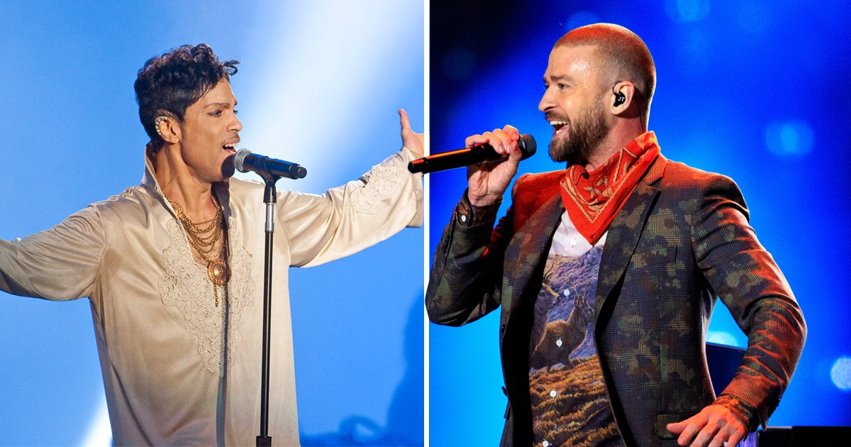 Hate for JT after hhe wrote diss track about Prince and then performed tribute