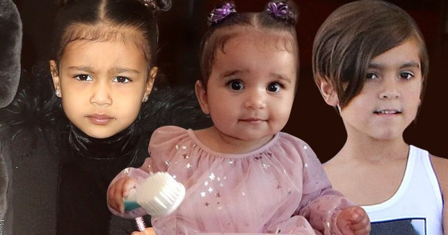 Kardashian children's names and ages – Kim's, Kourtney's and Kylie's