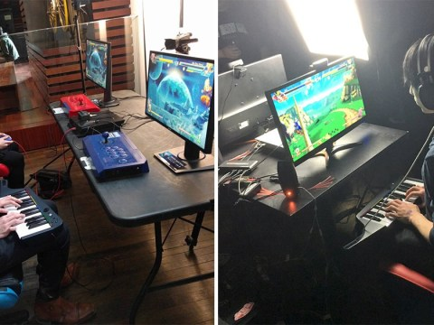 Someone played Dragon Ball FighterZ with a Rockband keyboard and he totally blew our minds