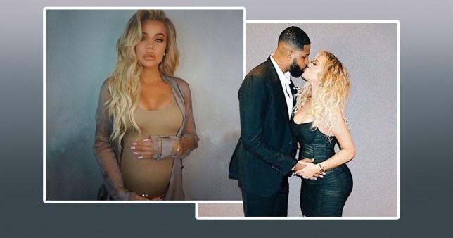 Khloe Kardashian bump at 29 weeks