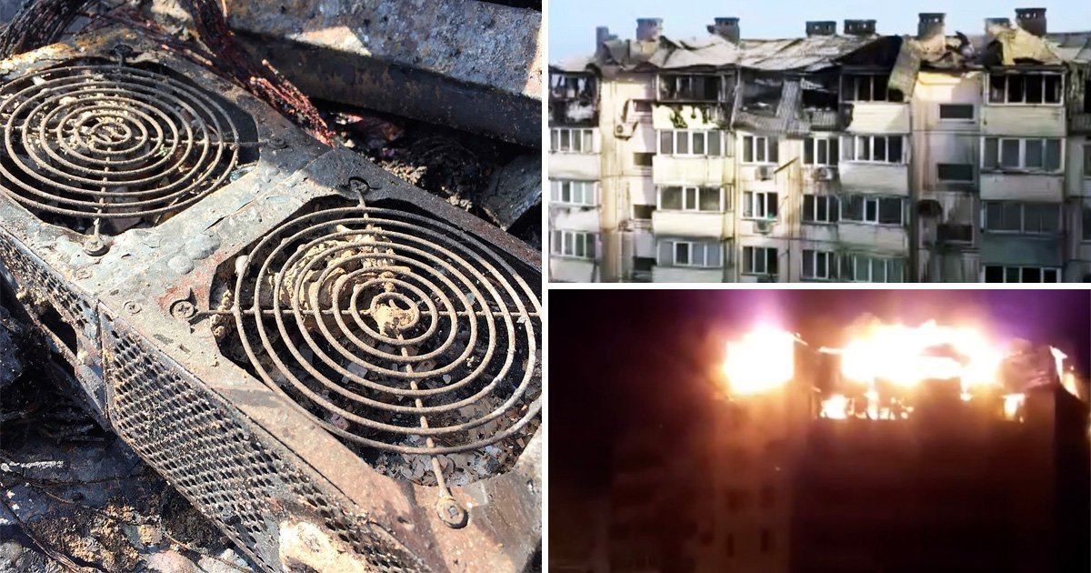 Bitcoin mining believed to be behind huge fire in block of flats
