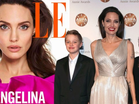 Angelina Jolie shares the lessons she teaches her daughters and it's the mind that's important
