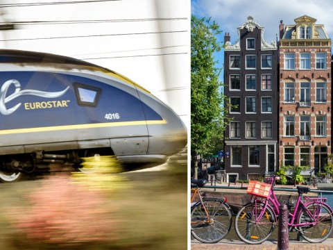 Eurostar is launching service from London to Amsterdam