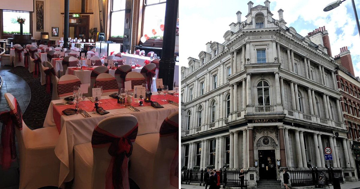 You can get married in Wetherspoon for £3,000