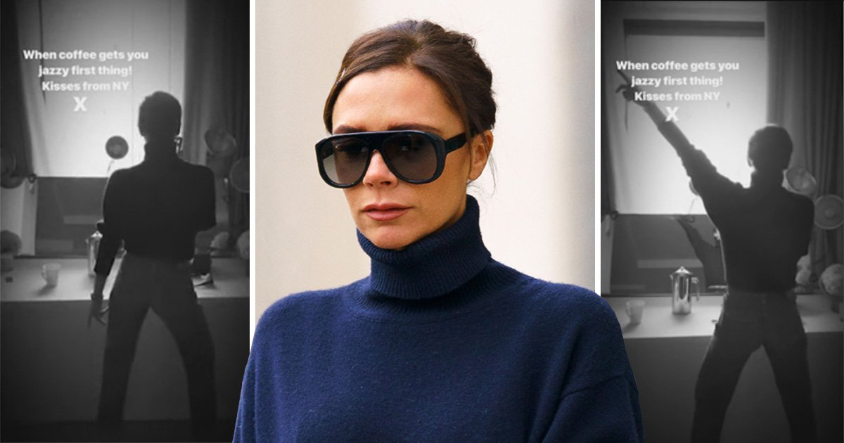 Victoria Beckham practises her dance moves ahead of Spice Girls reunion