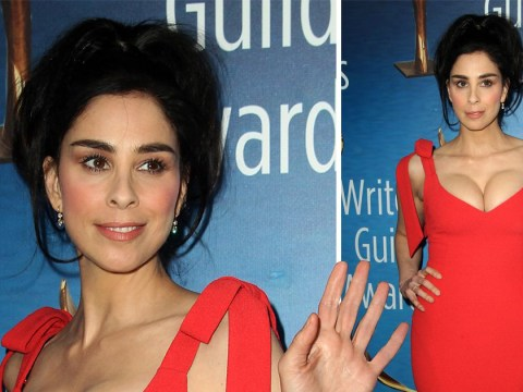 Sarah Silverman bounces back from Michael Sheen split at Writers Guild Awards