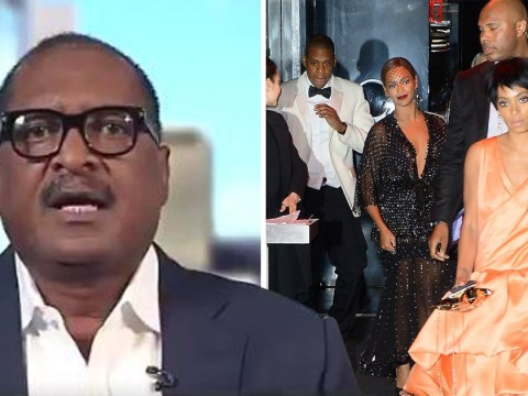 Mathew Knowles swerves question about Solange and Jay-Z lift attack on live TV