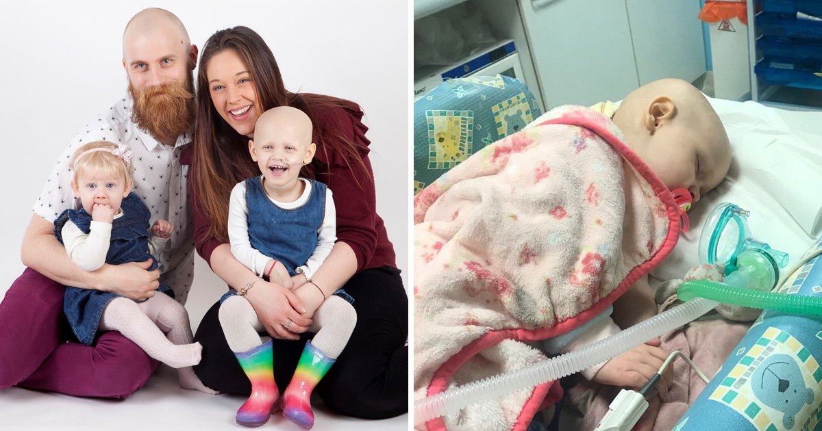 Parents desperate to raise £200,000 to save daughter, 3, told cancer will return