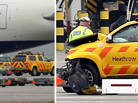 Man dies after serious crash at Heathrow Airport