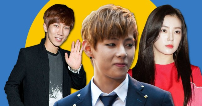 100 K-pop idols vote for their favourite idols – and BTS' V