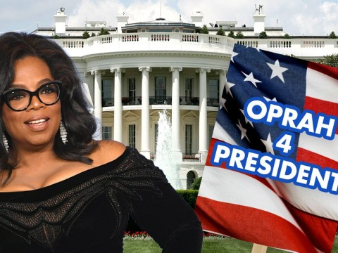 Oprah Winfrey says she briefly thought about running for President but it's 'not in my DNA'
