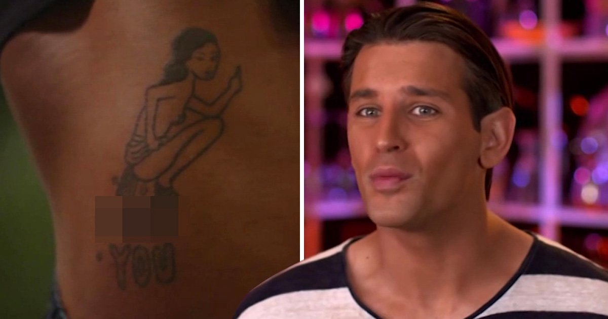 Ollie Locke gets the shock of his life as his date reveals 'horrific' NSFW tattoo on Celebs Go Dating