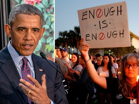 Obama's reaction to the Florida school shooting puts Trump to shame