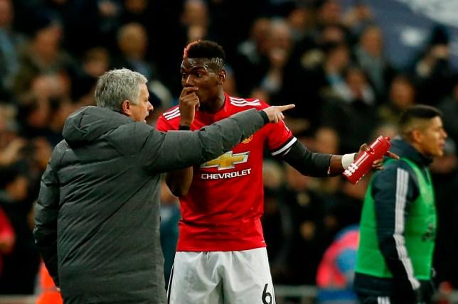 Jose Mourinho slammed Paul Pogba during Man Utd's defeat to Spurs