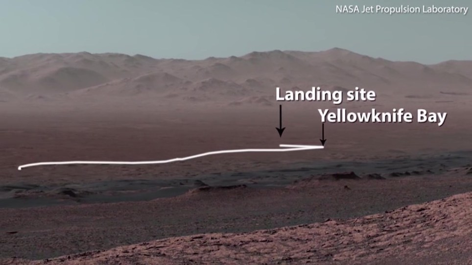 Nasa releases stunning panoramic view of the surface of Mars