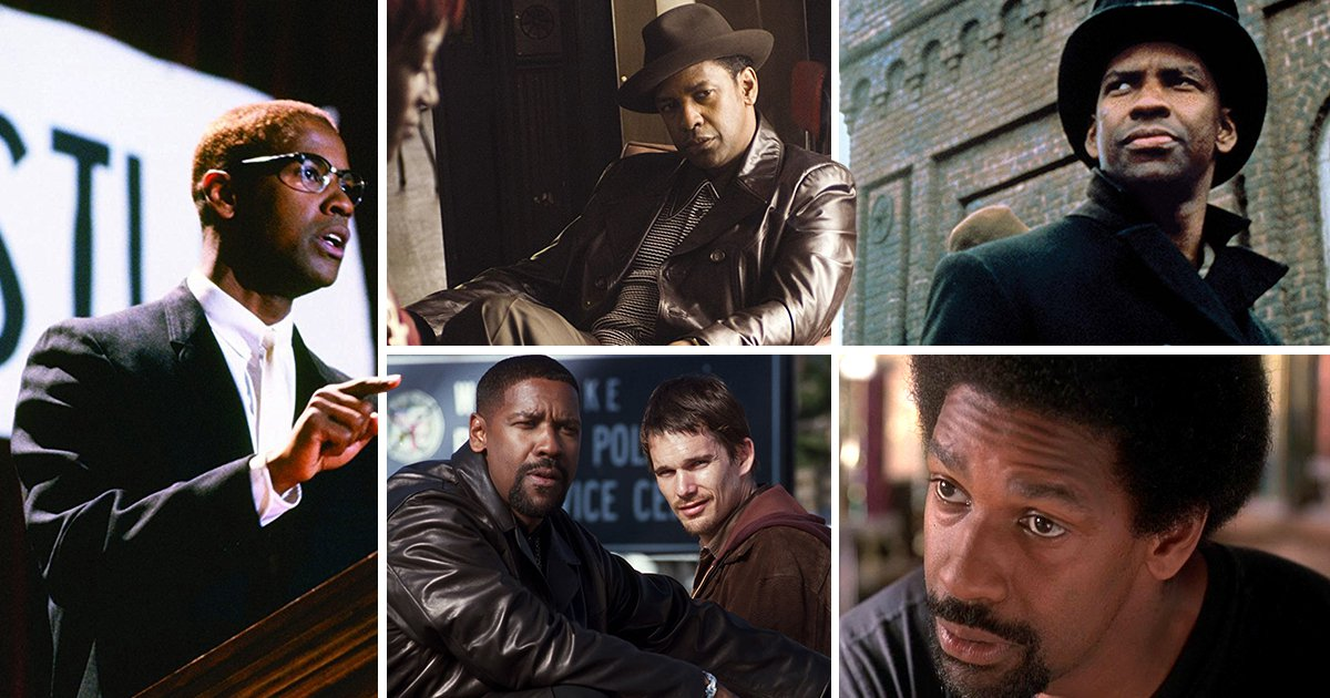 As Roman J Israel, Esq. hits the cinemas, here are Denzel Washington's best ever on-screen roles ranked