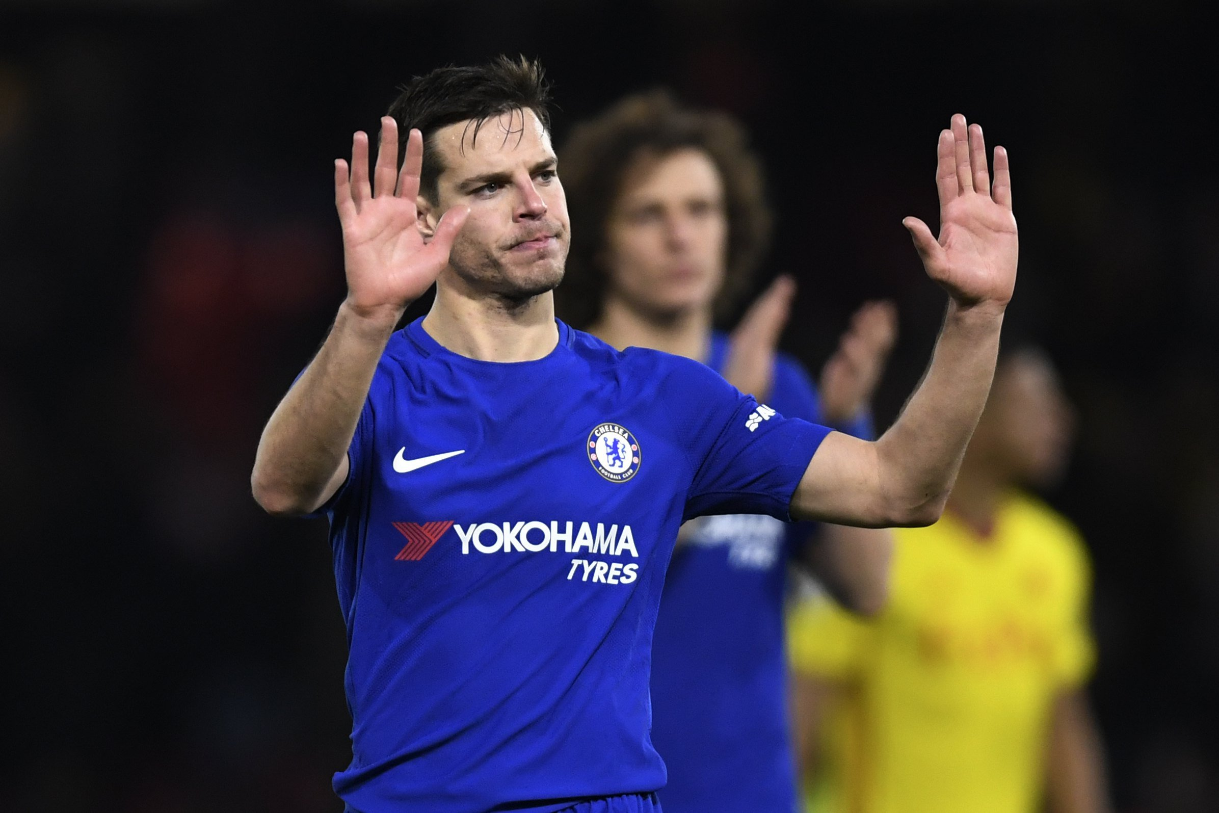 Cesar Azpilicueta claims Andres Iniesta will get a hostile reception from Chelsea fans