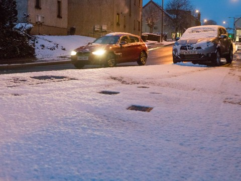 When and where is it going to snow in the UK and how long for?